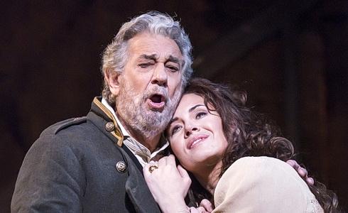 Plácido Domingo a Sonja Jončeva