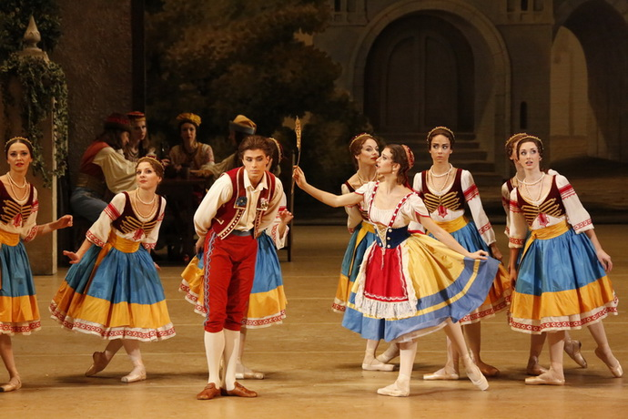 Z baletu Coppélie