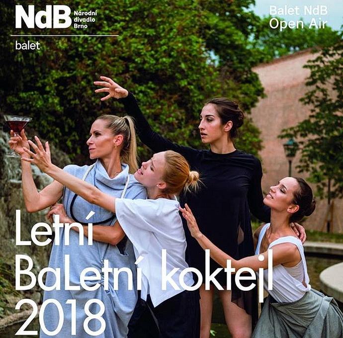 Letní BaLetní koktejl 2018 baletu NdB