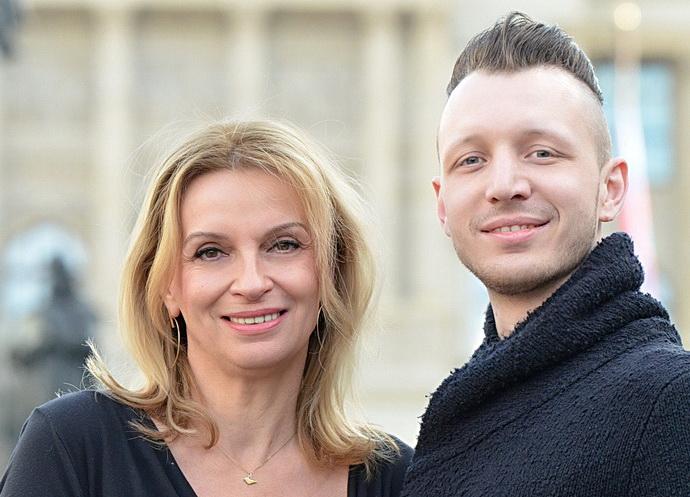 Ivana Chýlková a František Kopecký (Činoherní klub)