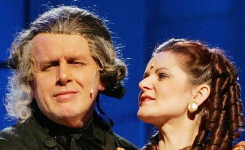 Hana Medková s Josefem Vránou v Amadeovi, VČD 2010