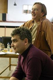 Režisér O. Havelka a sólista Zoltán Korda