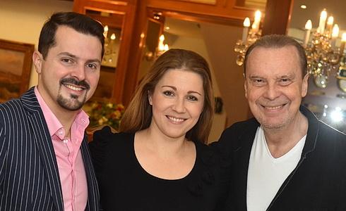 Jiří Brückler, Kateřina Kněžíková a Štefan Margita