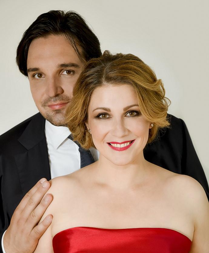 Adam Plachetka s manželkou Kateřinou Kněžíkovou