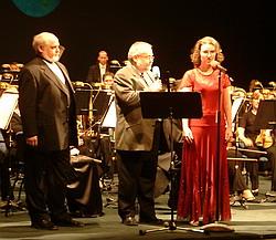I. Kusnjer, J. Herman a L. Šaldová (Opera 2005 galakoncert)