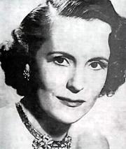 Pěvkyně Jarmila Novotná