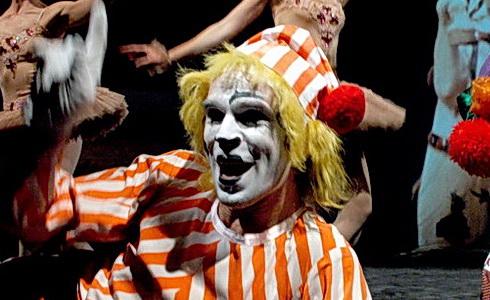 Z inscenace Kouzelný cirkus