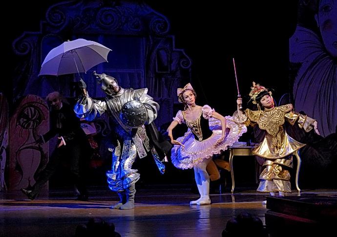 Romantický balet Coppélia v Národním divadle