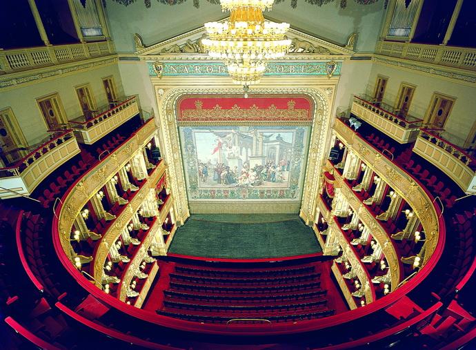 Národní divadlo Praha - interiér