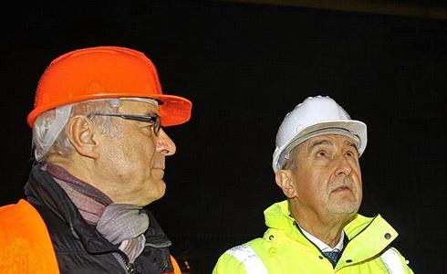 Ilja Šmíd, Andrej Babiš a Jan Burian v Státní opeře