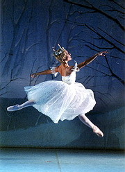 Z baletu Louskáček