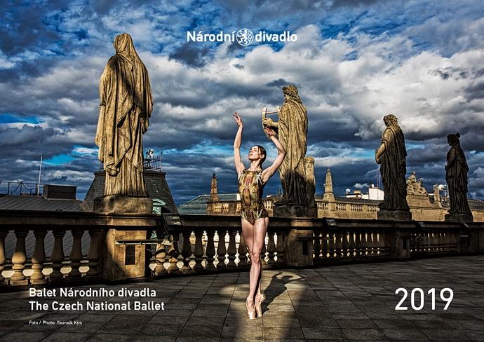 Kalendář baletu Národního divadla (Foto: Younsik Kim)