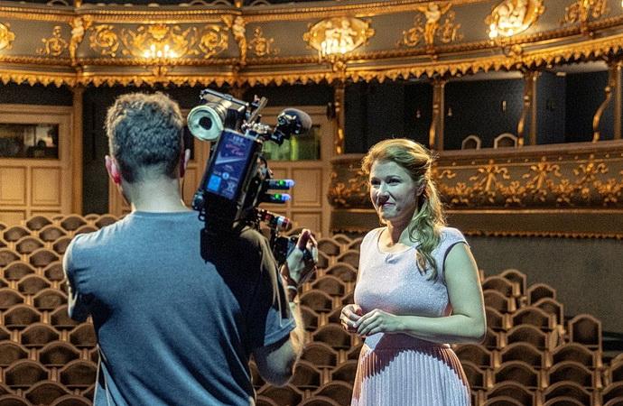 Kateřina Kněžíková ve Stavovském divadle