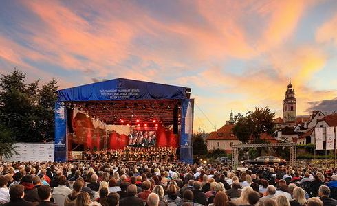 Ze z�v�re�n�ho koncertu MHF �esk� Krumlov (Zdroj: L. Sv��ek)
