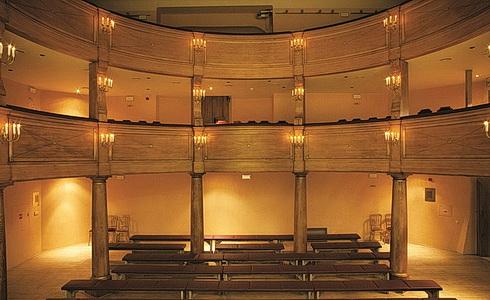 Barokní divadlo Valtice – sál