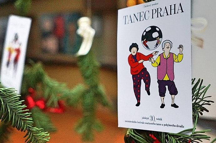 Dárkové poukazy na festival TANEC PRAHA 2018