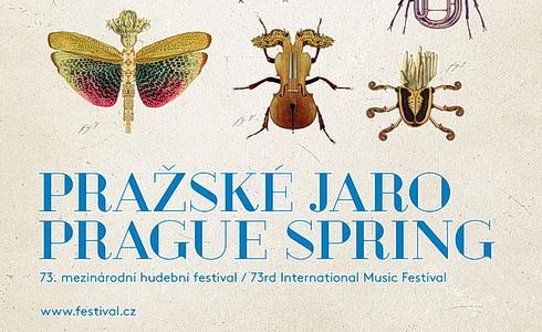 Pražské jaro 2018 - plakát
