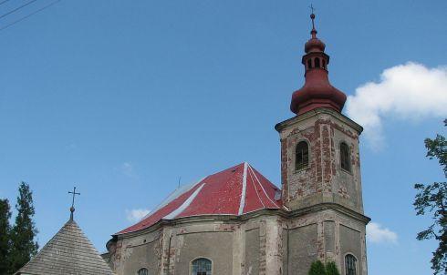 Kostel sv. Anny Vižňov