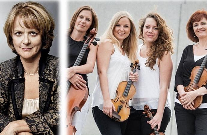 Taťjana Medvecká a Kaprálová Quartet
