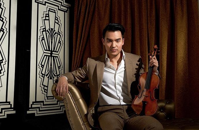 Houslista Ray Chen (Foto: John Mac)