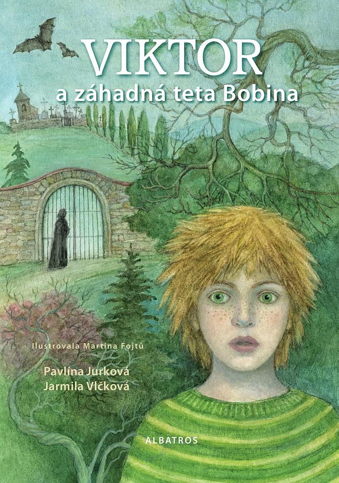 Přebal knihy Viktor a záhadná teta Bobina