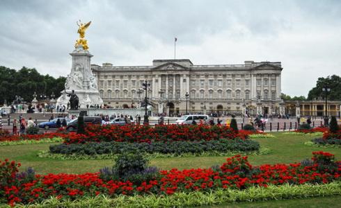 Zahrada Buckinghamského paláce