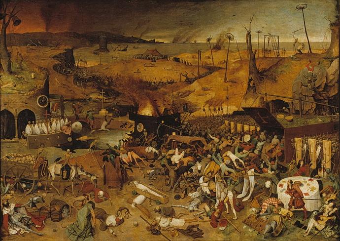 Pieter Brueghel st. – Triumf smrti