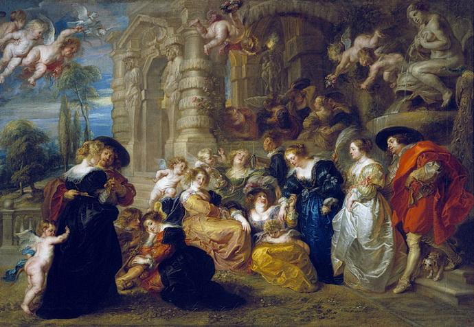 Peter Paul Rubens – Zahrada l�sky