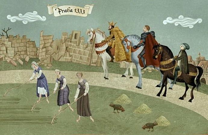 Sedm pe�et� Karla IV.