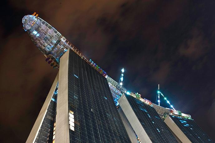 Velké stavby světa: Singapurské Vegas