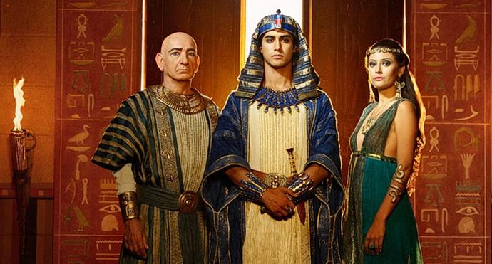 Seriál Tutanchamon
