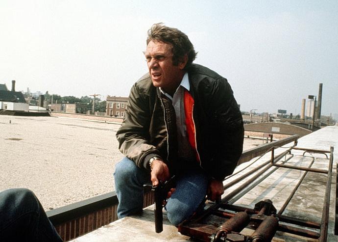 Steve McQueen  ve filmu Lovec
