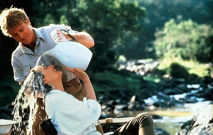 Robert Redford a Meryl Streepová (Vzpomínky na Afriku)