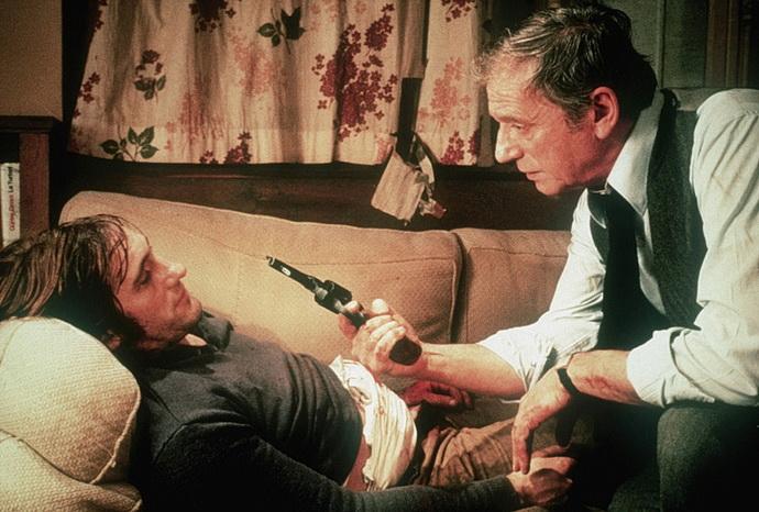 G. Depardieu a Yves Montand (Volba zbraní)