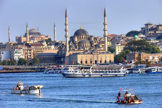 Modrá mešita v Istanbulu
