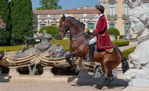 Evropské zámky a paláce: Estremadura v Portugalsku
