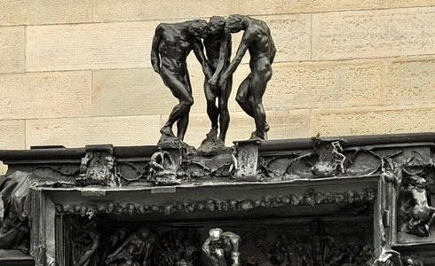 Auguste Rodin - Brána pekel