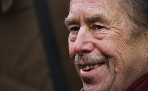 Havel jede na dovolenou