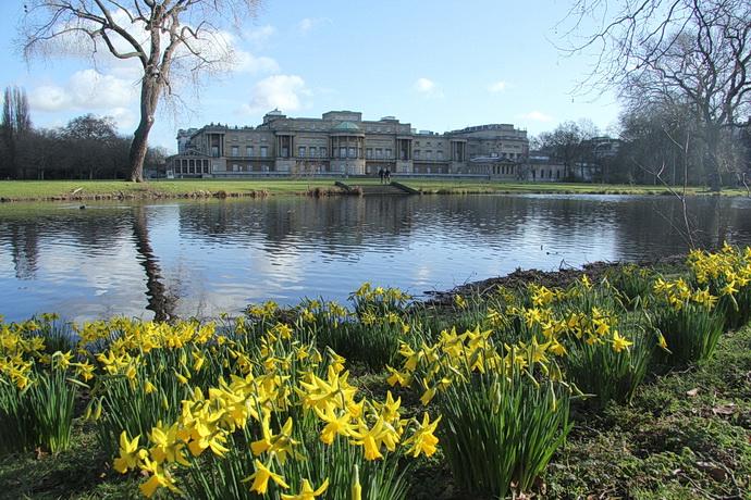 Zahrada Buckinghamskeho palace