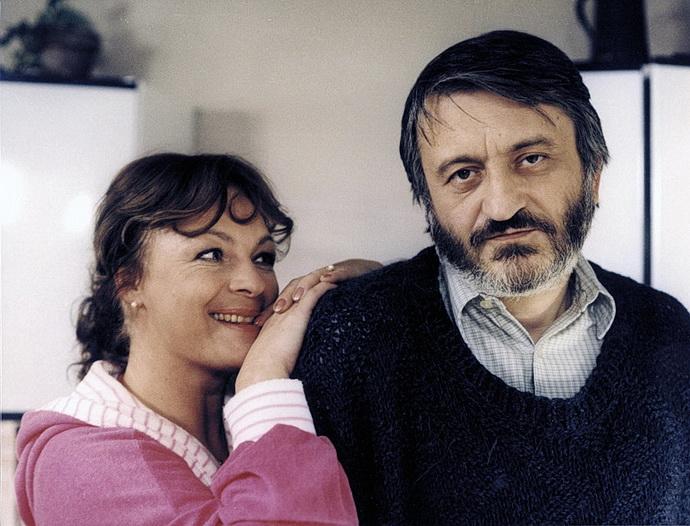 Jana Hlaváčová a Milan Lasica (Vážení přátelé, ano)