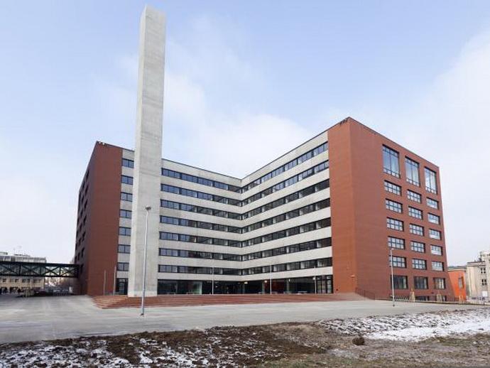 Moderní budova ČVÚT