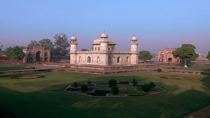 Architektura: Mughalské mauzoleum