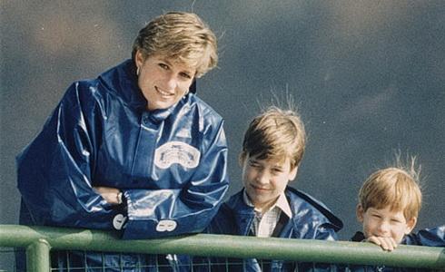 Diana, William a Harry