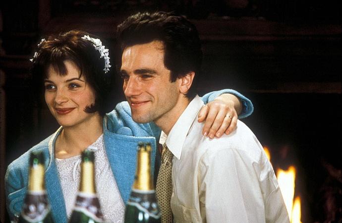 Daniel Day-Lewis a Lena Olinová (Nesnesitelná lehkost bytí)