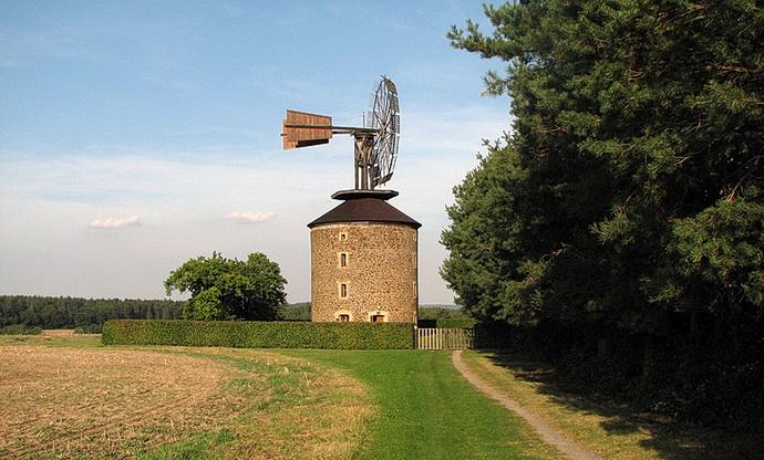 Větrný mlýn (Světový unikát v Ruprechtově)