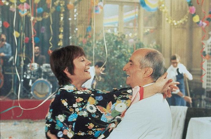 Annie Girardotová a Louis de Funès (Jeden hot a druhý čehý)