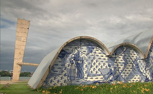 Brazílie - Juscelino Kubitschek a Oscar Niemeyer