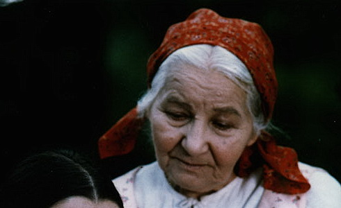L. Geprtová a J. Kurandová (Babička)