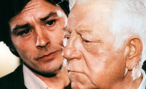 A. Delon a J. Gabin (Dva muži ve městě)