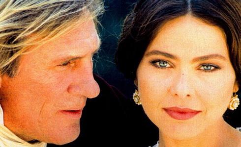 Gérard Depardieu a Ornella Mutiová (Hrabě Monte Christo)